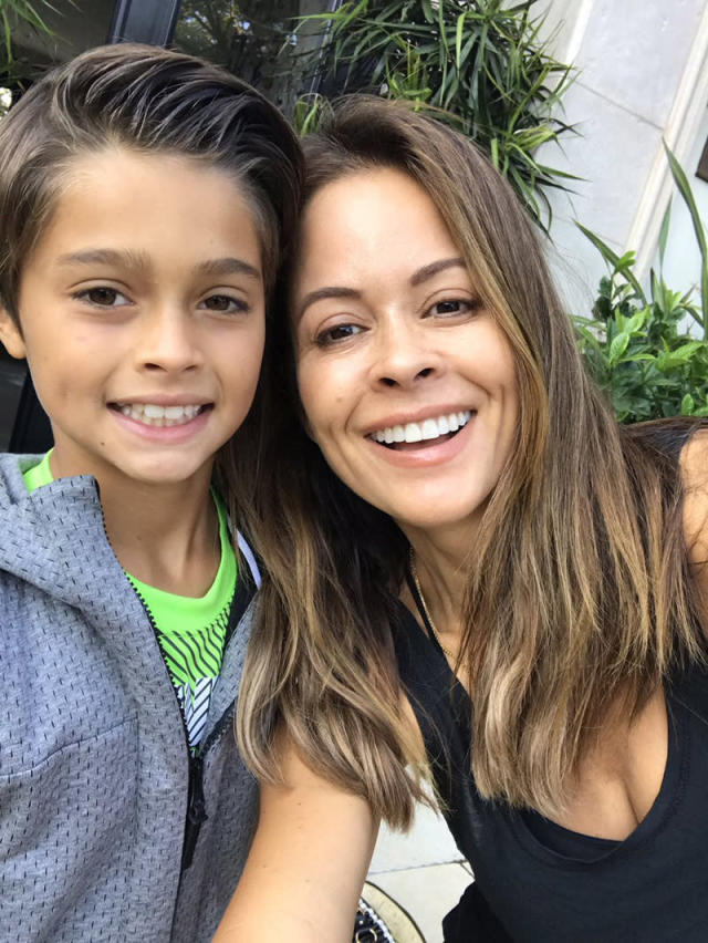 "<p>""Bye-bye summer! 1st day of school,"" wrote Brooke Burke-Charvet. ""On my way 2 pick up my babies. so excited! not sure sure who had a harder time separating today me or them."" (Photo: <a href=""https://twitter.com/brookeburke/status/900087558998114304"" rel=""nofollow noopener"" target=""_blank"" data-ylk=""slk:Brooke Burke-Charvet via Instagram"" class=""link rapid-noclick-resp"">Brooke Burke-Charvet via Instagram</a>) </p>"