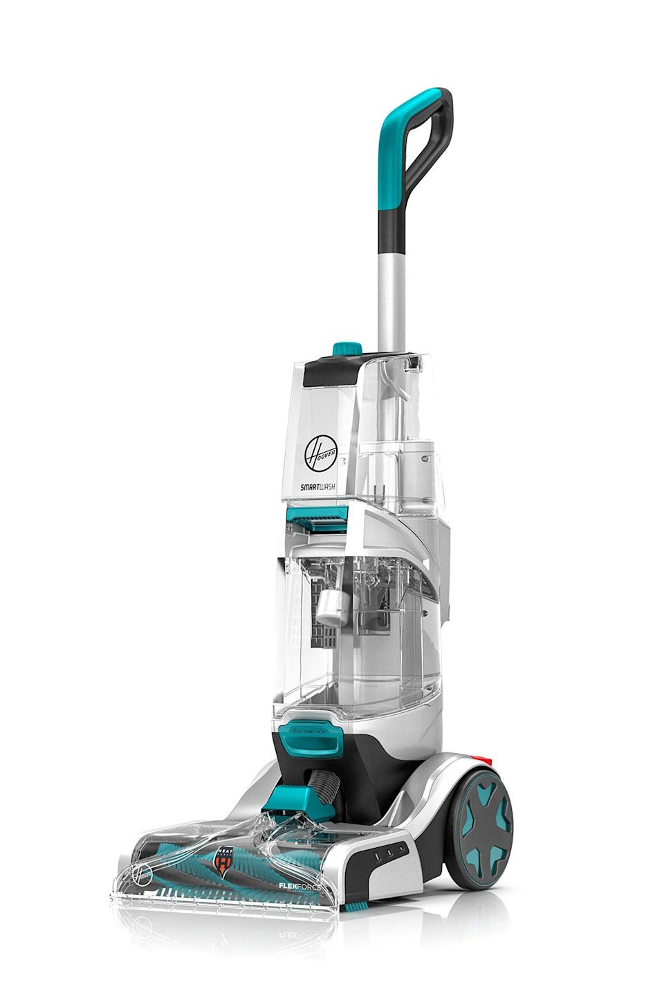 """<br><br><strong>Hoover</strong> Smartwash Automatic Carpet Cleaner Machine, $, available at <a href=""""https://amzn.to/3zrqKiX"""" rel=""""nofollow noopener"""" target=""""_blank"""" data-ylk=""""slk:Amazon"""" class=""""link rapid-noclick-resp"""">Amazon</a>"""