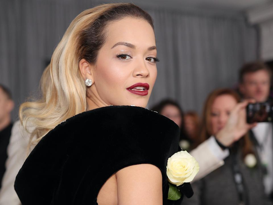 Rita Ora met Madonna during a campaign for her clothing line (Getty Images for NARAS)