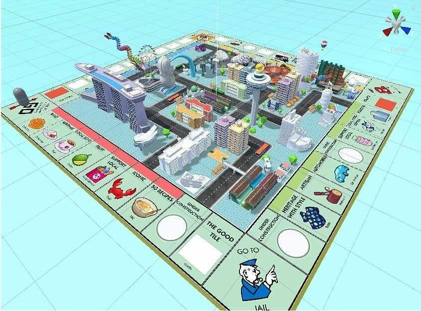 Monopoly Explore! SG. (PHOTO: First Wave Agency)