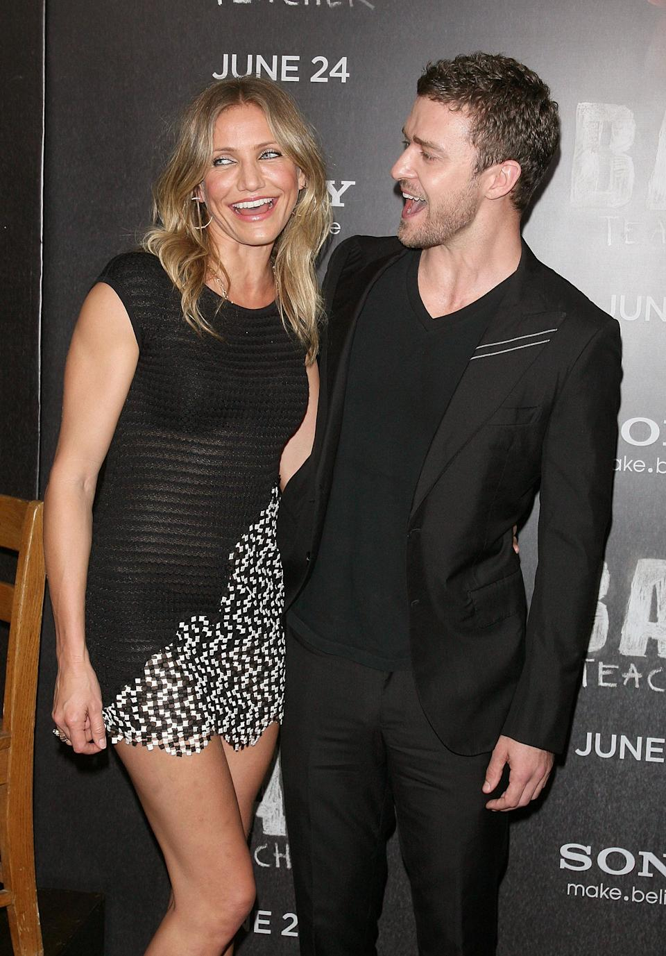 Let's be honest, break-ups can be messy, particularly in the glare of the spotlight, so it's good to see when two celebrities can put their differences aside and still be friends, as Cameron and Justin did - even eventually going on to star in 'Bad Teacher' together.