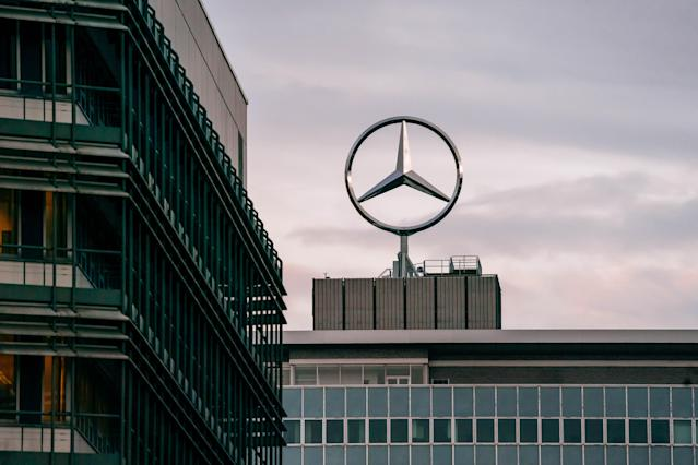 Daimler's bottom line was hammered in 2019 by €4.2bn worth of charges in fees and fines related to the 'dieselgate' scandal. (Thomas Niedermueller/Getty Images)