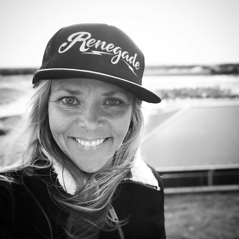 Racer Jessi Combs. (Photo: Instagram)