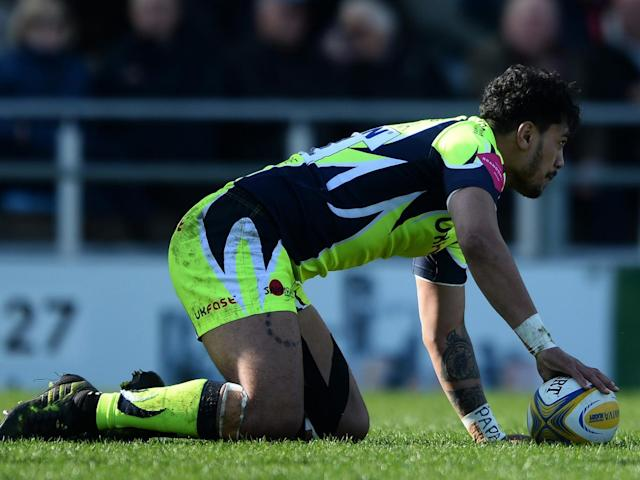 Solomona scored a breakaway try for Sale (Getty)