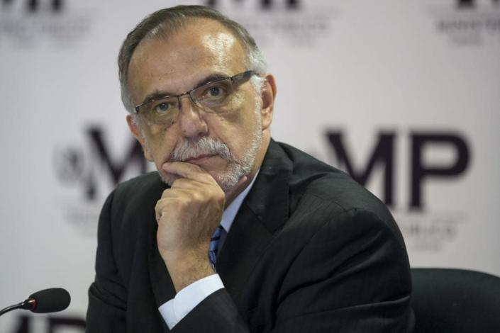 """<div class=""""inline-image__title""""> Guatemala Corruption </div> <div class=""""inline-image__caption""""> <p>""""Ivan Velasquez, commissioner of the United Nations International Commission Against Impunity, listens to a question during a press conference in Guatemala City, Friday, Aug. 25, 2017. Velasquez and Guatemala's attorney general are calling for the removal of President Jimmy Morales' political immunity to investigate him for illicit electoral financing. (AP Photo/Moises Castillo)""""</p> </div> <div class=""""inline-image__credit""""> Moises Castillo </div>"""