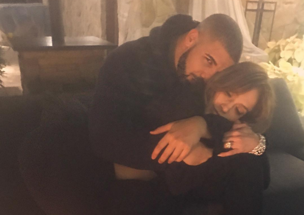 Jennifer Lopez and Drake are dating -- or totally trolling us. (Photo: Instagram)