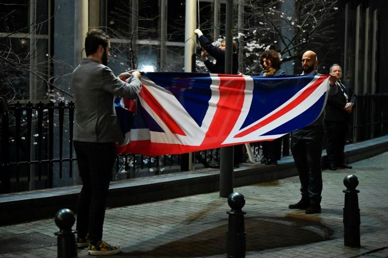 Britain formally left the EU on January 31 but the two sides have yet to agree on a post-Brexit trade deal