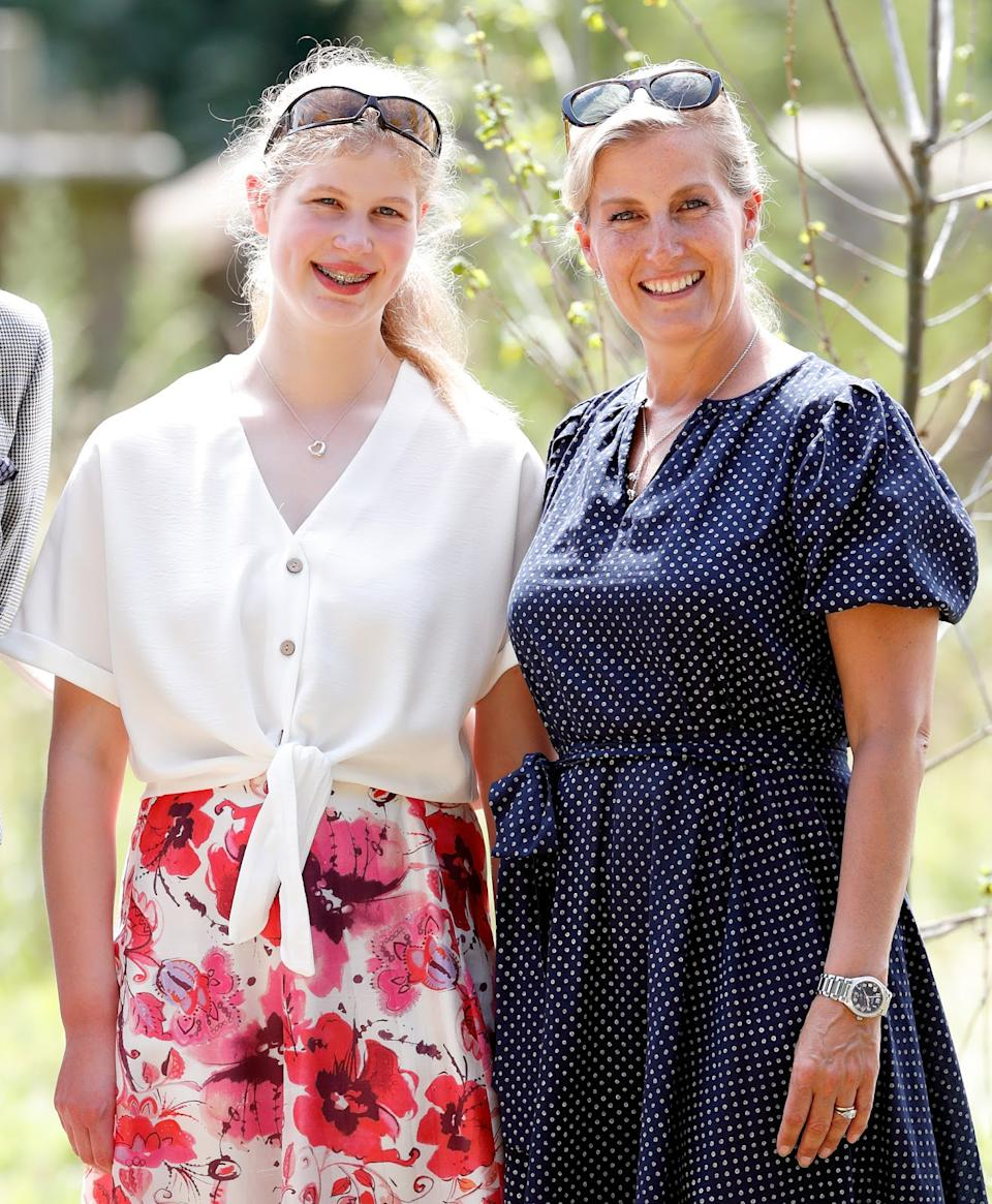 <p>Lady Louise Windsor and Sophie, Countess of Wessex visit The Wild Place Project at Bristol Zoo in 2019. (Max Mumby/Indigo/Getty Images)</p>