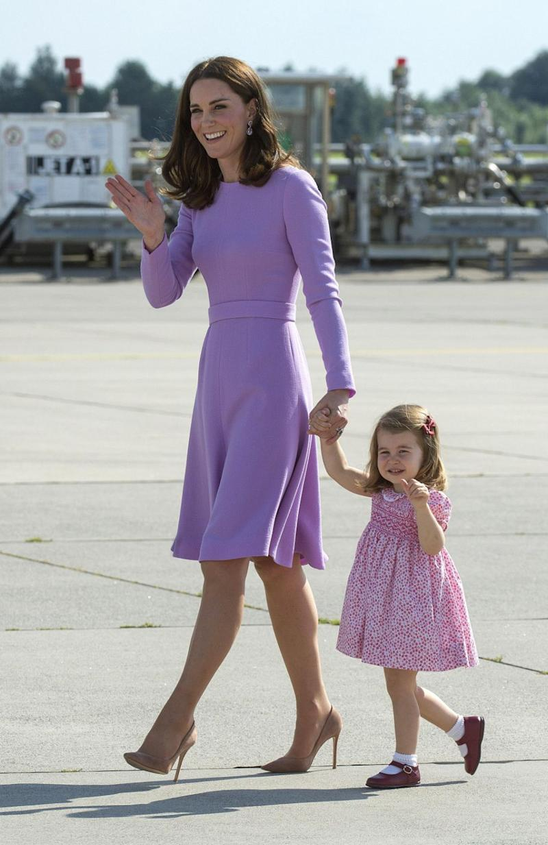 Kate and Wills will take Charlotte to see the school in the new year. Photo: Getty