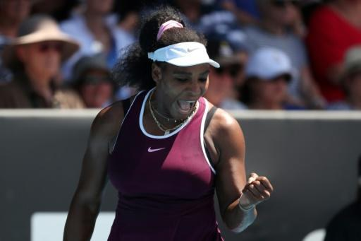 Serena Williams dropped a set before beating Christina McHale