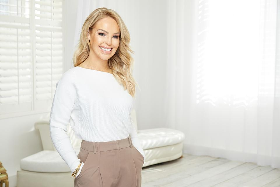 Katie Piper wants to help give the gift of confidence. (Dan Kennedy)