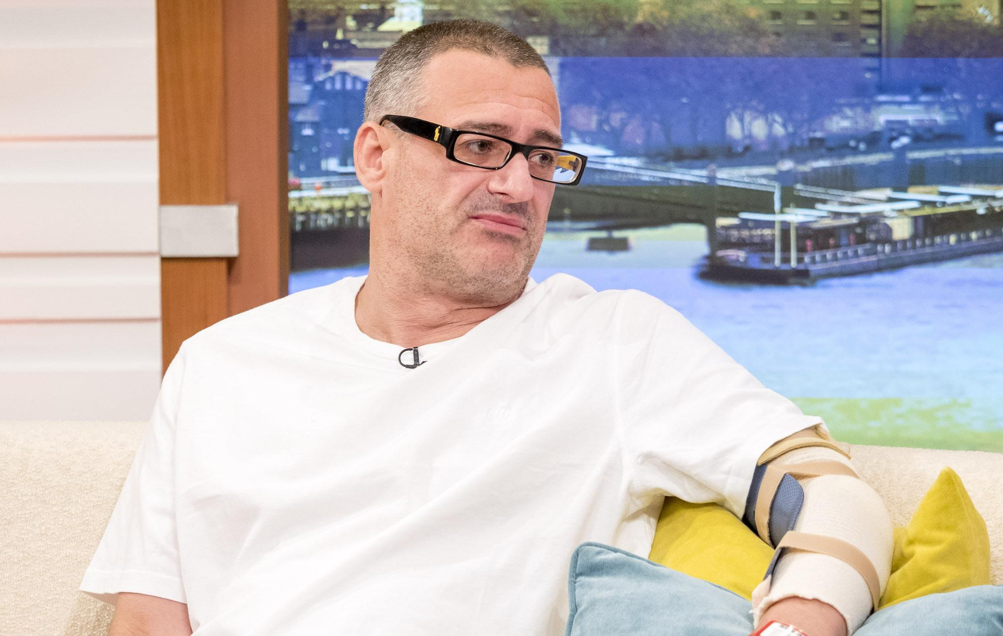 Roy Larner appears on Good Morning Britain after the London Bridge attack (Rex features)