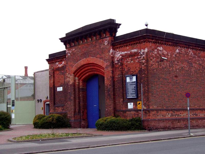 HMP Nottingham, located in the Sherwood area of Nottingham: Rex