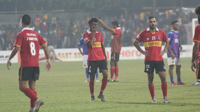 East Bengal's agonising journey in the I-League over the years