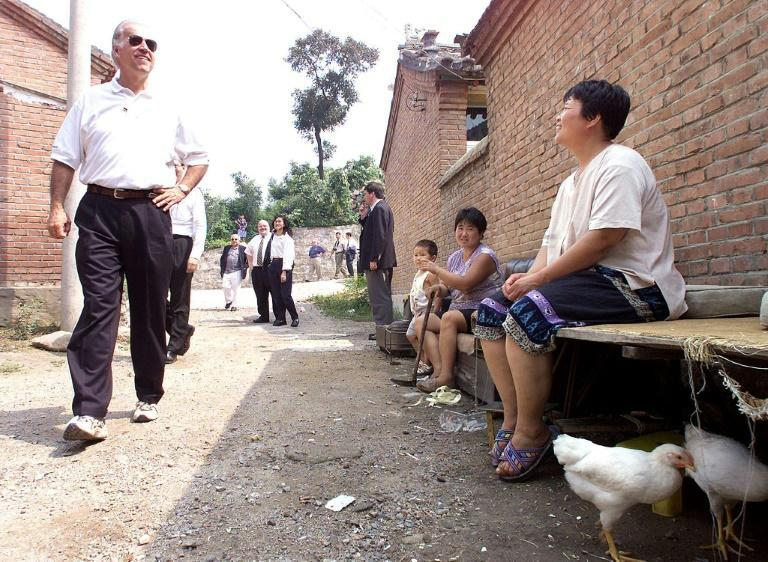 In August 2001, Biden was chairman of the Senate Foreign Relations Committee when he made an official visit to China