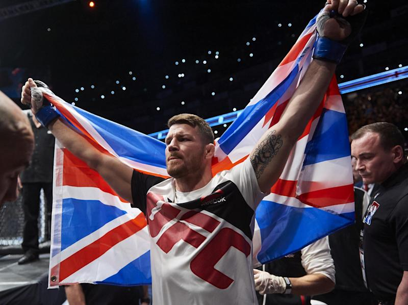 Michael Bisping, the UK's first UFC champion: Getty