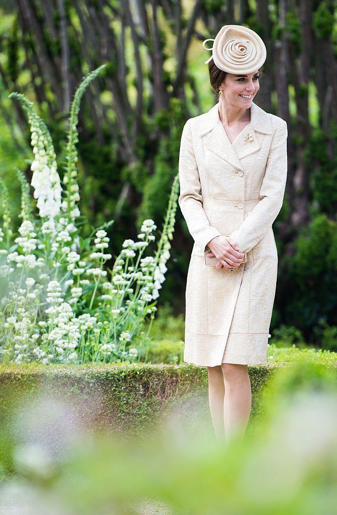 <p>Kate was spotted at the North Ireland Garden Party wearing a coat by Day Birger et Mikkelsen (which you may remember her wearing all the way back in 2006!)</p>