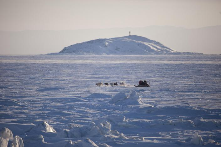 A defrocked Catholic priest was found guilty of raping dozens of children and a sled dog in the Canadian Arctic, where he worked as a missionary for decades (AFP Photo/Geoff Robins)
