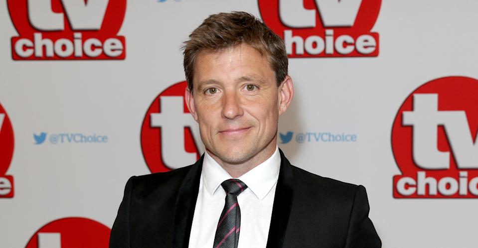 Ben Shephard screamed when a millipede weed on him on Good Morning Britain (ITV)