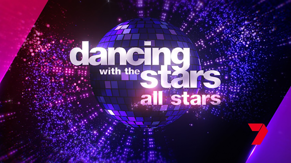 Dancing With The Stars logo.
