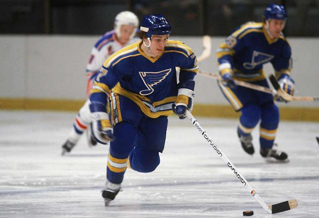 <p>The Boston College star was a victim of the NHL's anti-American bias at the draft but made an immediate impact as a free agent, scoring 25 goals in his rookie season of 1981-82. He went on to become the first American to score 500 goals and 1,000 points in the NHL, blazing a trail for the next generation of U.S.-born stars.</p>