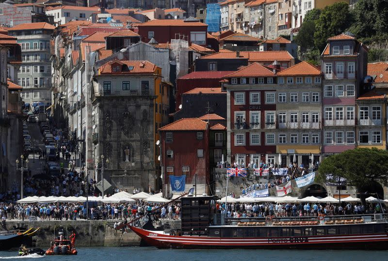 Champions League - Fans in Porto ahead of the Champions League Final Manchester City v Chelsea
