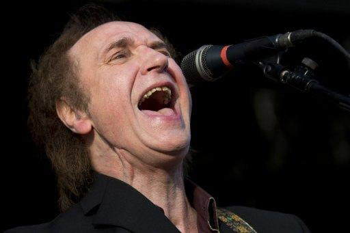 "British musician Ray Davies, frontman of The Kinks, performs during the first day of the Hop Farm music festival in Paddock Wood, Kent in June 2012. The London Olympic Games closing ceremony will start with a 20-minute ""day in the life of London"", with the soundtrack ranging from classical English composer Edward Elgar to ""Waterloo Sunset"" by 1960s rockers The Kinks"
