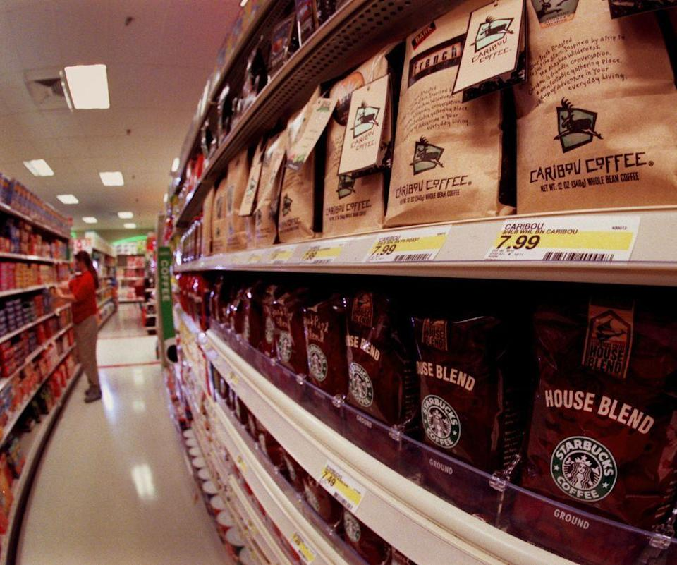 <p>In 1998, the company began selling different blends of coffee beans in grocery stores across the United States for customers who wanted their Starbucks fix at home, too.</p>