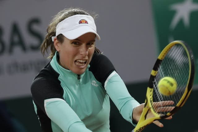 Konta is searching for a new permanent coach