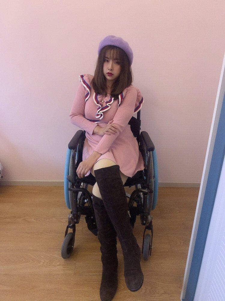 Sun Chenlu was an avid traveller before the accident and has not allowed her disability to stop her. During Covid-19 travel restrictions she travelled internally in China instead of abroad. Photo: Handout