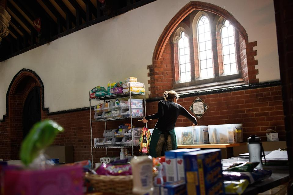 <p>A survey of 1,000 parents on universal credit and child tax credit who have children under the age of 18 reveals that six in 10 will go into debt over the Christmas period</p> (Getty Images)