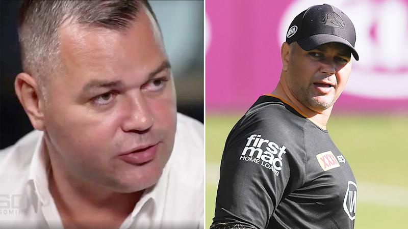 Pictured here, Anthony Seibold appeared on 60 Minutes to speak about nasty rumours against him.