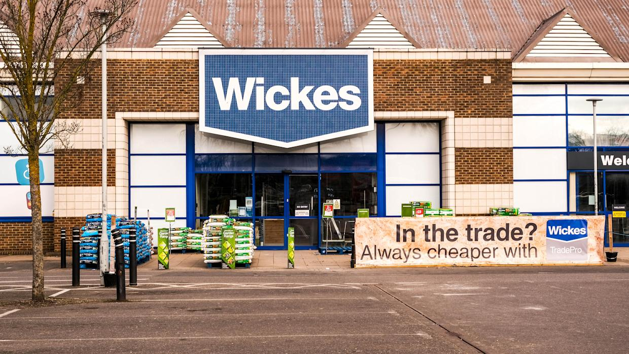 Wickes CEO David Wood said he was 'delighted with how the entire business has responded to the continued strong demand for our products and services.' Photo: Getty Images