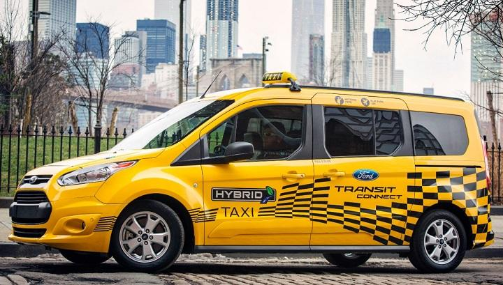 2017 Ford Transit Connect Hybrid Taxi Prototype photo