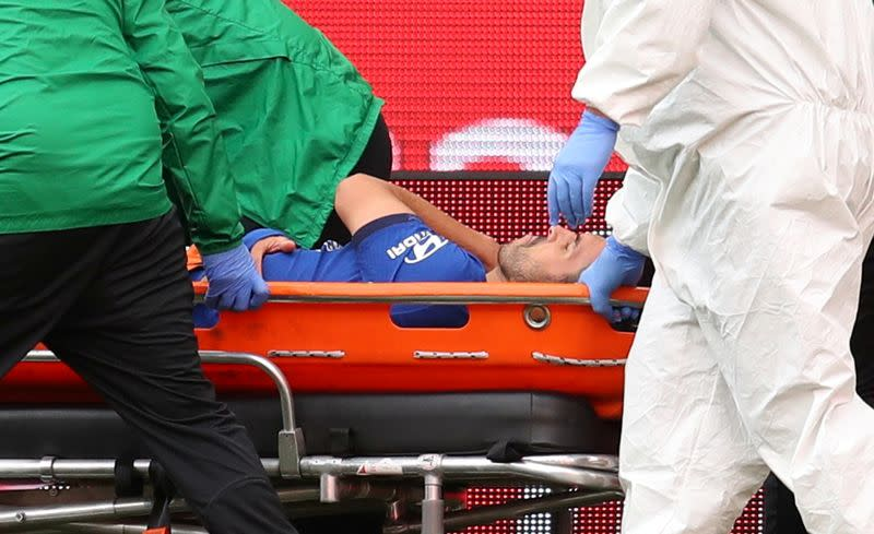 Chelsea's Pedro undergoes surgery for shoulder injury