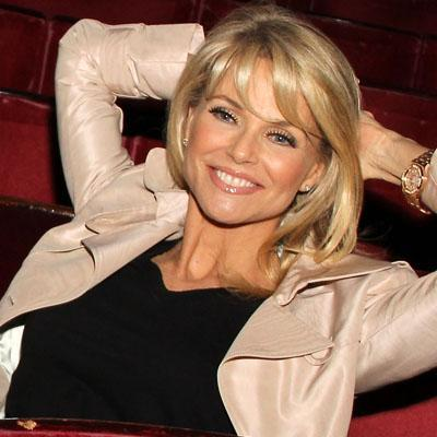 """<div class=""""caption-credit""""> Photo by: Getty images</div><div class=""""caption-title""""></div>Model Christie Brinkley poses inside the Cambridge Theater before her final <i>Chicago</i> performance in London on August 27, 2011. The 57-year-old mother-of-three still turns heads on the red carpet, thanks in part to her spf-rich, all-natural, vegan skin care regimen. Brinkley's dished her anti-aging secrets by launching her own skincare line, called <i>Christie Brinkley Skin Care</i>. Want to see more of the supermodel stunner's stay-fit secrets? Check out this SHAPE exclusive !"""