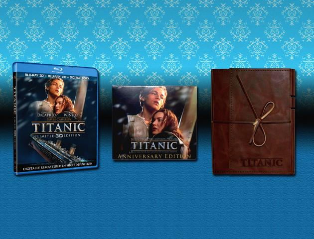 Titanic Blu-ray Prize Pack Giveaway