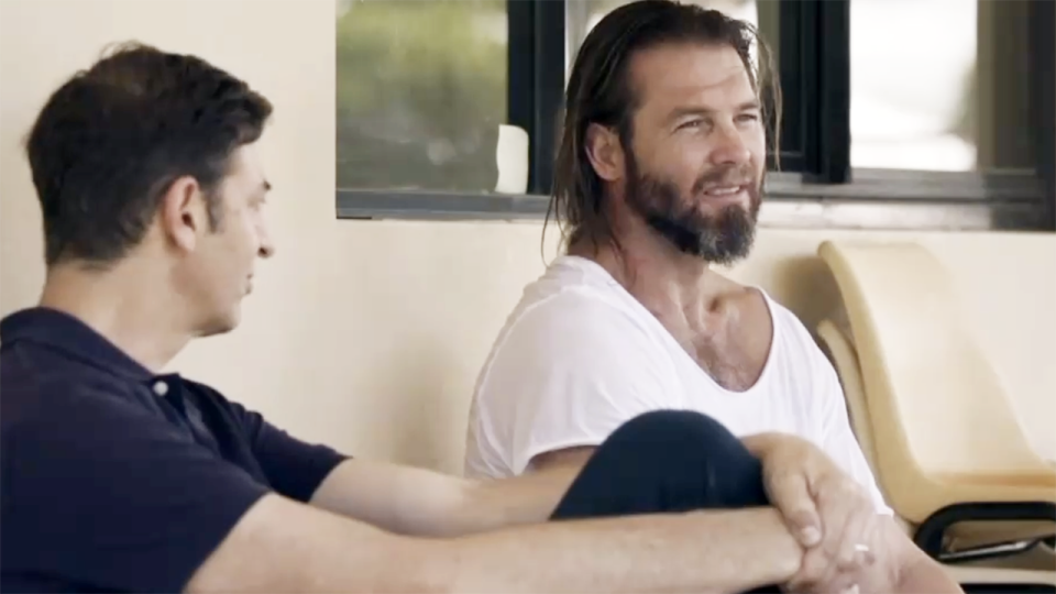 Ben Cousins spoke to Channel 7 in his first interview in 10 years. Image: Channel 7