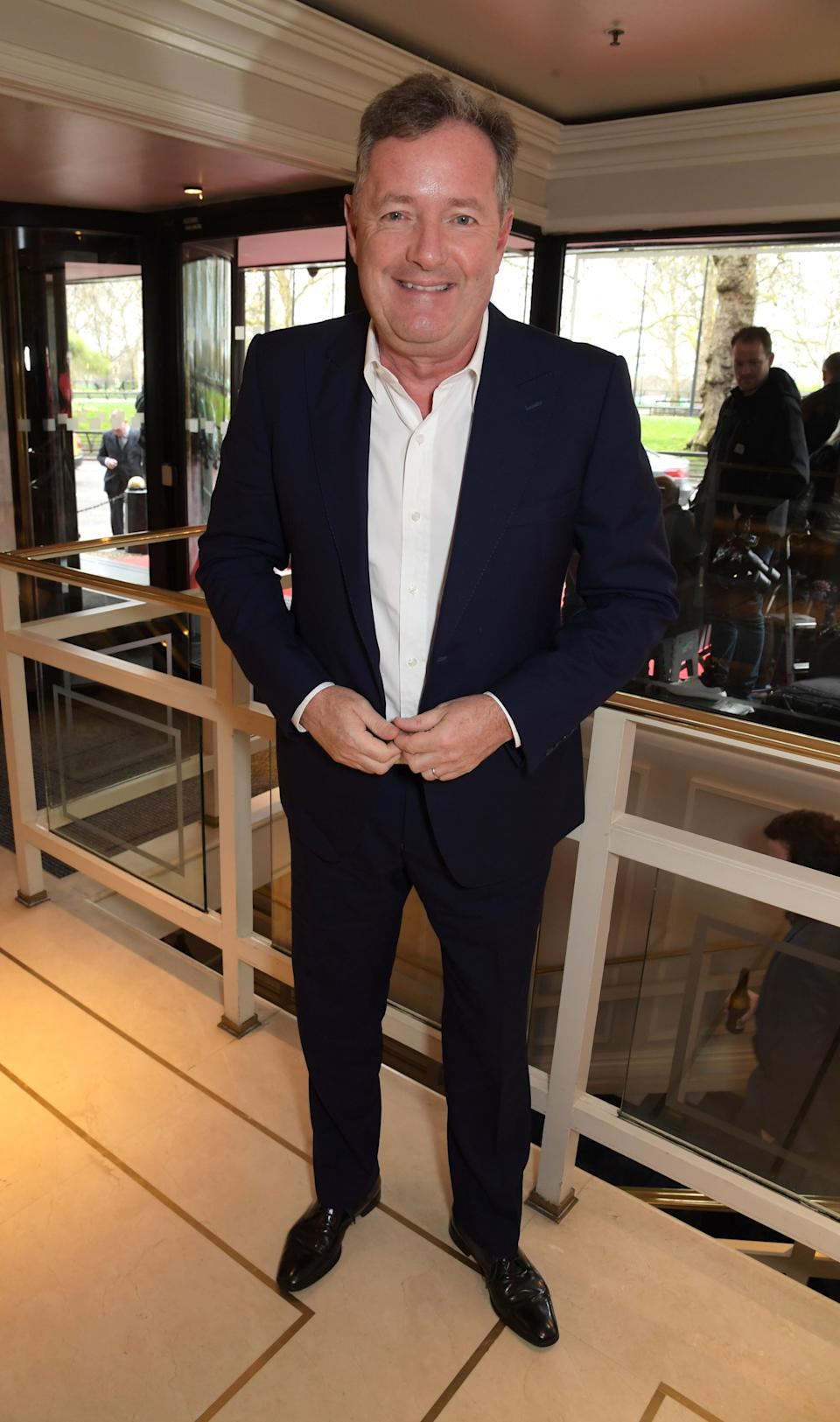 Piers Morgan at the TRIC Awards in March (Photo: David M. Benett via Getty Images)
