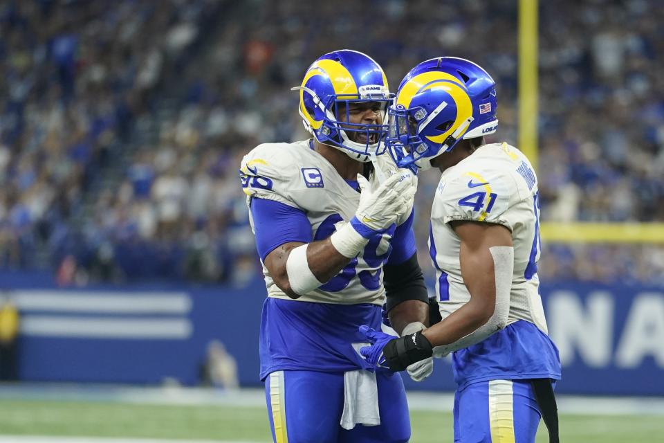 Aaron Donald and Kenny Young