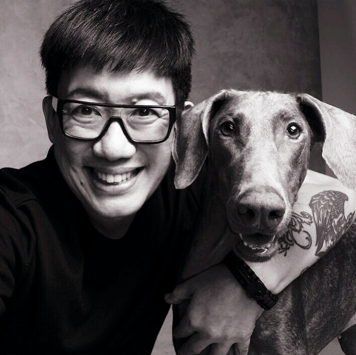 Daniel Boey with Leia. (PHOTO: Raymond Lee)