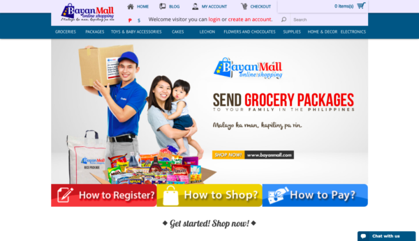Online Grocery Delivery in the Philippines - Bayan Mall