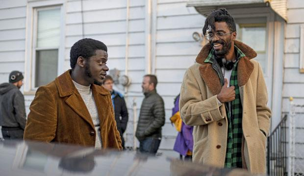 Daniel Kaluuya and Shaka King on the set of 'Judas and the Black Messiah' (Warner Bros.)