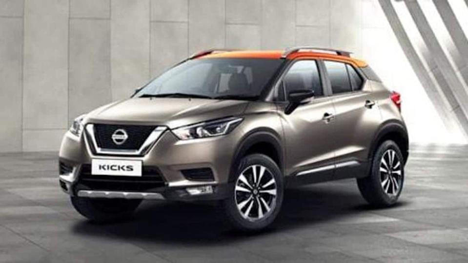 Benefits of up to Rs. 55,000 on Nissan KICKS SUV