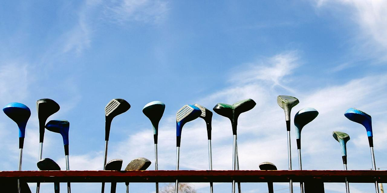 """<p>A round of golf with your best friends — with the cold beverage of your choosing in hand — is a foolproof recipe for enjoyment, even if you can't break 100 on 18 holes. We've compiled a guide to this year's best golf clubs, including complete sets that are course-ready with woods, irons, wedges, putters, and a bag, as well as iron-only sets for the golfer looking to mix and match their set. Every golfer says that """"it's the clubs' fault!"""" at least once a day, but now you can increase your chances at scoring well by swinging one of these top-rated golf club sets. </p><h2>Our Favorites</h2><ol>  <li><strong>Best 9-Club Set</strong>: <a href=""""http://www.amazon.com/dp/B00Q8I1BX8/"""">Callaway Strata 9-Club Men's Complete Golf Club Set</a></li>   <li><strong>Best Iron Set Under $600</strong>: <a href=""""http://www.amazon.com/dp/B078TMTMF2"""">TaylorMade M4 Men's 4-PW Iron Set</a></li>   <li><strong>Best 12-Club Set</strong>: <a href=""""https://www.amazon.com/dp/B076B2WPHK"""">Tour Edge Golf- Bazooka 360 Complete Set</a></li>   <li><strong>Best Iron</strong>: <a href=""""http://www.amazon.com/dp/B07MNBRS4P/"""">Callaway Golf 2019 Apex Individual Iron</a></li>   <li><strong>Pro Iron Set</strong>: <a href=""""https://www.dickssportinggoods.com/p/titleist-718-ap3-irons-steel-17ttlm718p3stl4pwirn/17ttlm718p3stl4pwirn"""">Titleist 718 AP3 Iron Set</a></li>   <li><strong>Best 16-Piece Set</strong>: <a href=""""http://www.amazon.com/dp/B004VK17C0"""">Pinemeadow PRE Men's 16-Piece Complete Golf Club Set</a></li>   <li><strong>Best Iron Set Under $1,000</strong>: <a href=""""https://www.dickssportinggoods.com/p/titleist-718-ap1-irons-steel-17ttlm718p1stl4pwirn/17ttlm718p1stl4pwirn"""">Titleist 718 AP1 Irons</a></li>   <li><strong>Best Kid Set</strong>: <a href=""""http://www.amazon.com/dp/B00QUXLV3G/"""">Callaway XJ Hot Junior Set</a></li>   <li><strong>Best Women's Set</strong>: <a>Wilson Women's Profile SGI Women's Complete Golf Club Set</a></li>   <li><strong>Amazon Best Seller</strong>: <a href=""""http://www.amazon.com"""