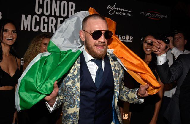 McGregor has been living the high life since fighting Mayweather in August. Pic: Getty