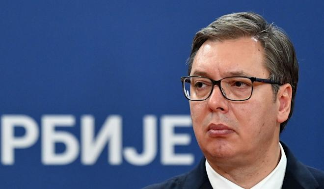 Serbian President Aleksandar Vucic has recently attempted to build personal ties with Chinese President Xi Jinping under the shadow of the coronavirus pandemic. Photo: AFP