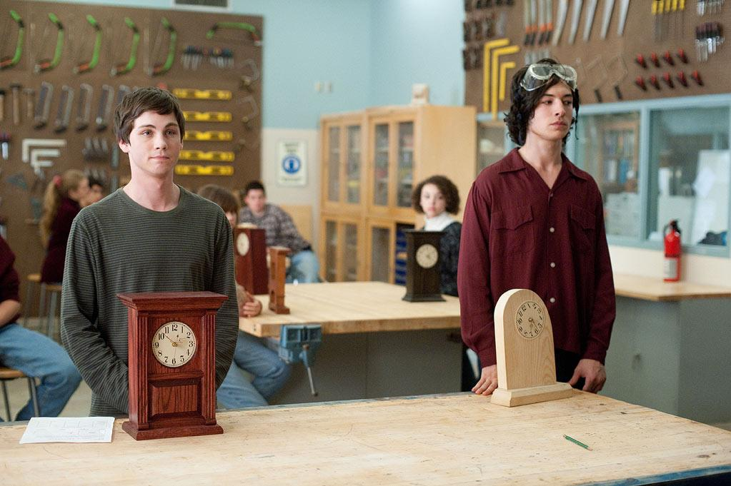 """Logan Lerman in Summit Entertainment's """"The Perks of Being a Wallflower"""" - 2012"""