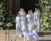 <p>Steel blue snuck in as one of the most popular colors for bridesmaids dresses in 2019. Other contenders were blush and sage green. </p>