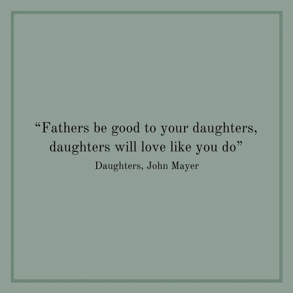 Songs About Dads: Daughters